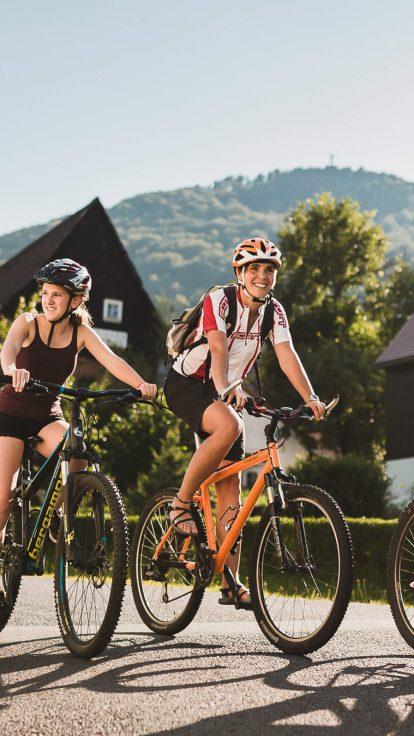 Erlebnis-Fahrrad-Tour-Gebirge