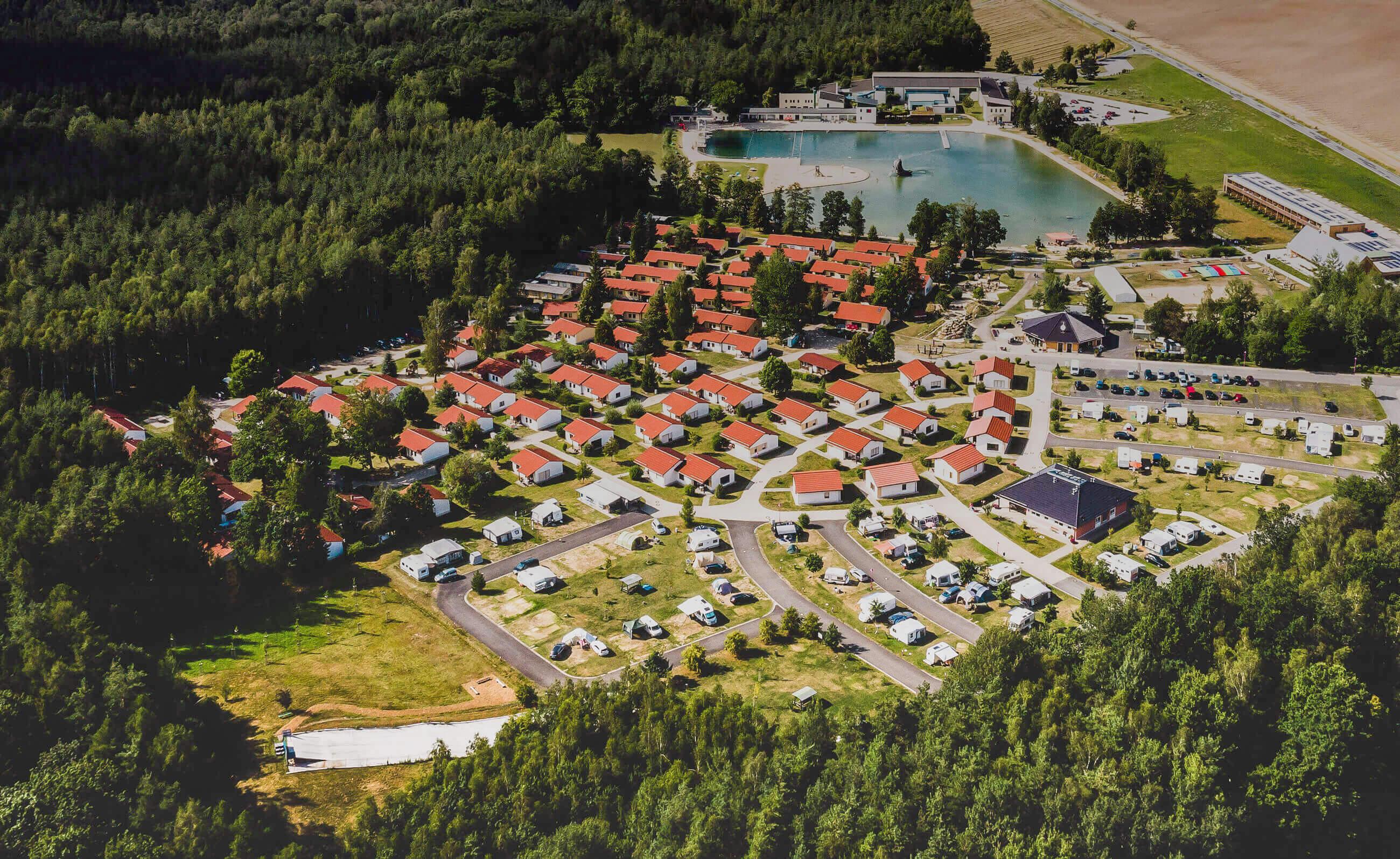 Trixi Ferienpark Ferienhaus Camping Hotel Zittauer Gebirge