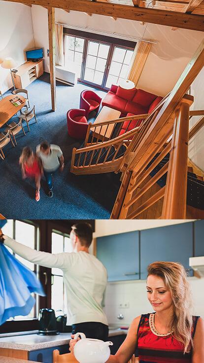 Trixi Ferienpark Zittauer Gebirge Familienurlaub Ferienhaus