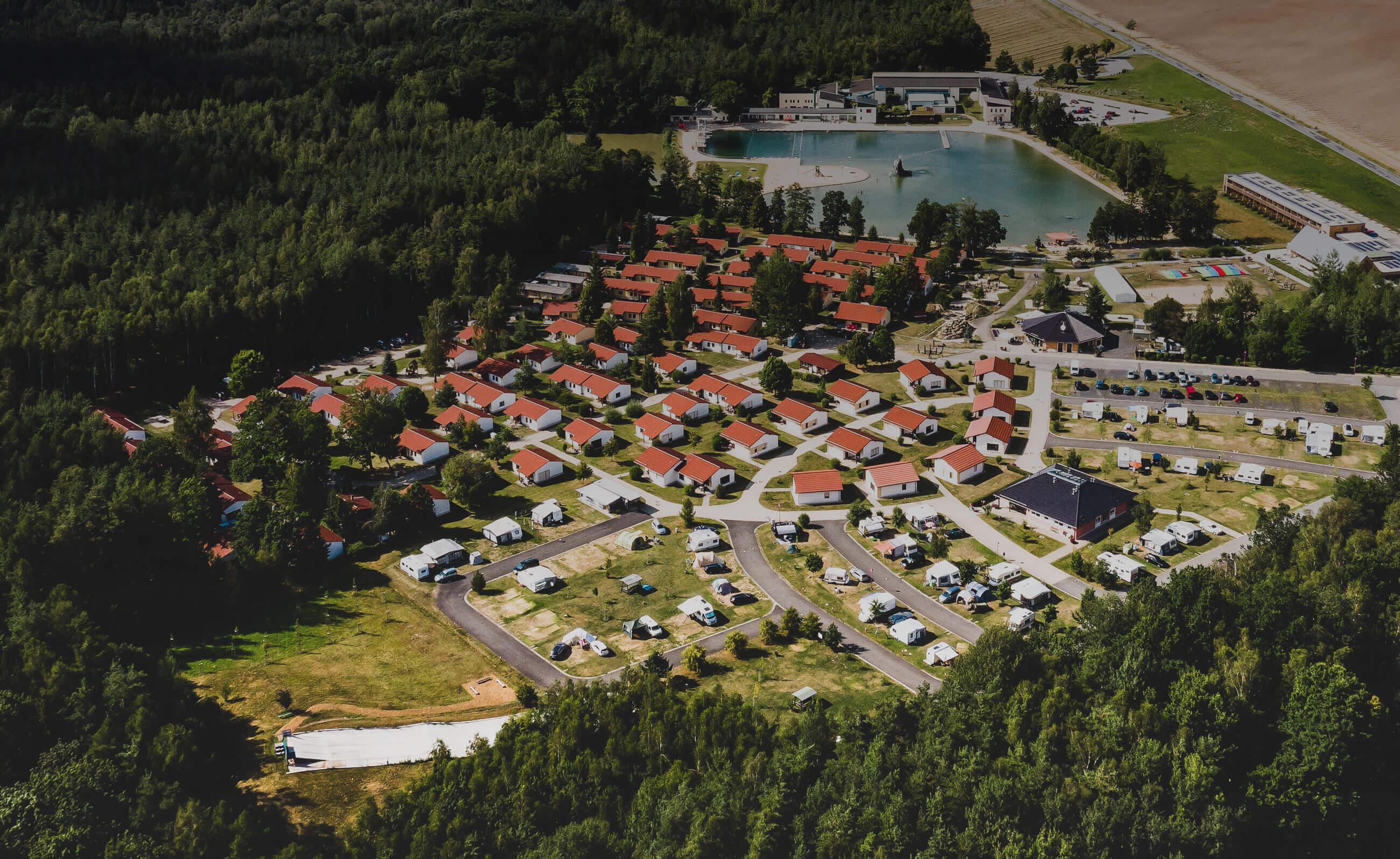 Trixi Ferienpark Zittauer Gebirge Ferienhäuser Camping Hotel Freizeitbad