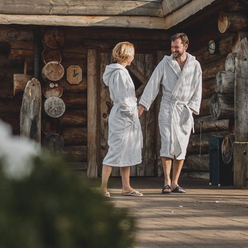 Trixi Bad Grossschoenau Saunalandschaft Exklusive Schwitzplätze