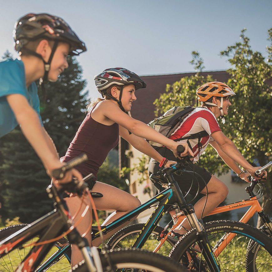 Trixi Ferienpark Zittauer Gebirge Erlebnisse Radwandern Radfahren