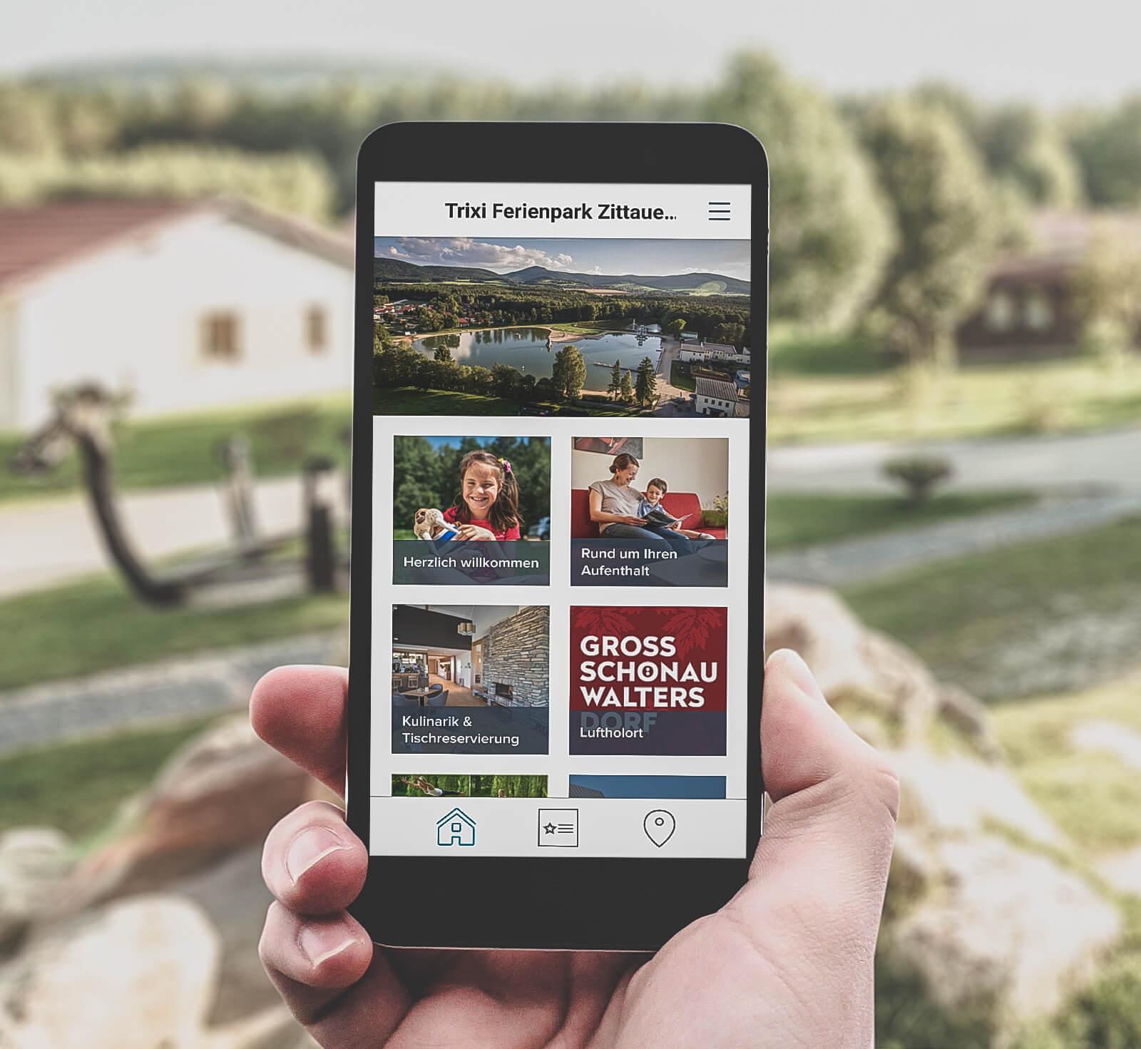 Trixi Ferienpark Zittauer Gebirge Gastfreund-App