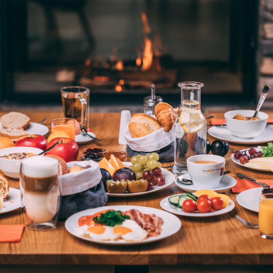 Trixi Ferienpark Frühstück